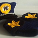 Police Hat, Diaper Cover, Handcuffs pattern