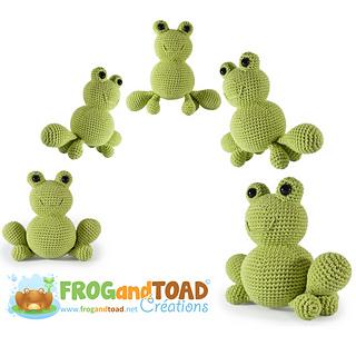 Froggy Amigurumi Pattern Frog Crochet Pattern - PDF file only ... | 320x320