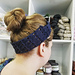 Broomstick Lace Headband pattern