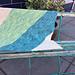 Garter Bias Blanket pattern
