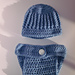 Ribbed Baby Hat pattern