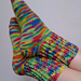 Toe Up Crocheted Sock With Gusset - Basic Pattern pattern