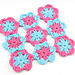 Maui Blossom Dishcloth pattern