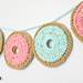 Festive Donut Garland pattern
