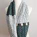 Silver Spruce Button Shawl pattern