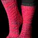 Cosmic DNA Sock pattern