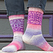 String Mandala Socks pattern