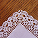 Handkerchief / Hanky with Filet Edging pattern