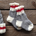 Tiny Lumberjack Socks pattern