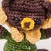 Sunflower Bear pattern