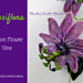 Passion Flower Vine pattern
