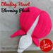 Bleeding Heart Plush pattern