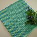 Oh my my Myosotis dishcloth pattern