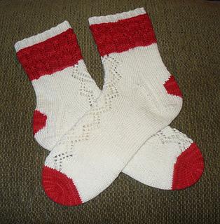 January SKA Mystery Sock