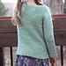 Foothill Pullover pattern