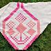 Sjal med Bjärbomönster - Halland pattern