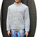 1:6th scale Broken Rib Sweater pattern