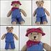 Teddy Bear Clothes pattern