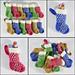 Mini Dotty Stocking pattern