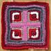 Log Cabin Grannysquare pattern