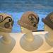 Tovet hatt med filtet pynt pattern