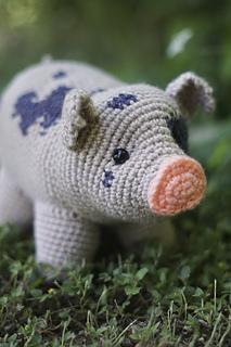 Cube Piggy Pig Amigurumi Pattern | 320x213