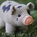 Pig Amigurumi CAL pattern