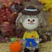Scarecrow & Pumpkin Amigurumi pattern