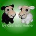 Amigurumi Pattern Tiny Sheeps /Amigurumi Pattern Mini Sheeps pattern