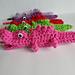 Alligator Pencil Cozy pattern