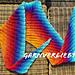 Tuch `Feuer & Eis` pattern