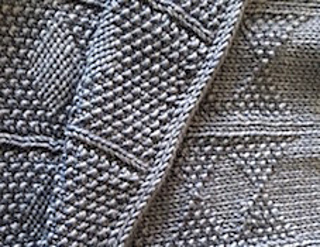Reversible Gansey stitch