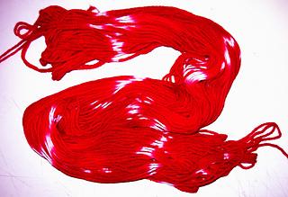 Fuschia Yarn