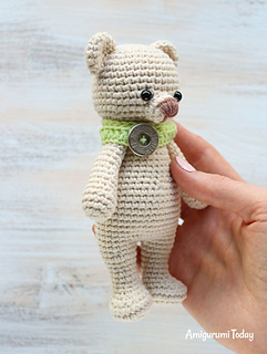 Free Amigurumi Bear Toy Softies Crochet Patterns | 320x241
