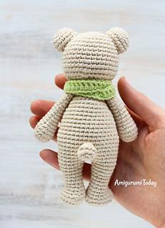 Ravelry: Tiny Amigurumi Bear and Bunny pattern by Amigurumi Today | 320x231