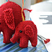 Christmas Elephants pattern