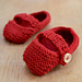 Baby Button Shoes pattern