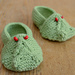 Baby Frog Shoes pattern