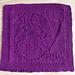 Pug Dog Washcloth pattern