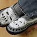 Glamour Skull Slipper Shoes - Men Sizes pattern