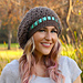 Pinecone Slouchy Hat pattern