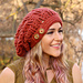 Ginger Snap Slouchy Hat pattern