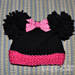 Minnie the Famous Mouse Preemie Hat pattern