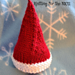 Elf on the Shelf Christmas Hat for Micro Preemie pattern