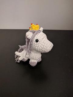 Tiny Unicorn Amigurumi - Amigurumi plushie - Rainbow Unicorn ... | 320x240