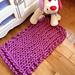 GIANT Rug by Go-Girl Knitting pattern