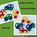 Car and Truck Applique pattern