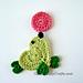Crochet Heart Animals  -  Seal Applique pattern