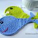 Whale Applique, Coaster pattern