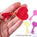Key to My Heart Applique pattern